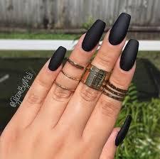 Black Manicure Designs 60 Pretty Matte Nail Designs