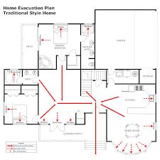 residential evacuation plan 3