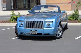 bentley rolls royce phantom 2008 rolls royce phantom drophead coupe stock pux16161 for sale