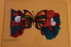 how to a butterfly glass painting 123peppy com