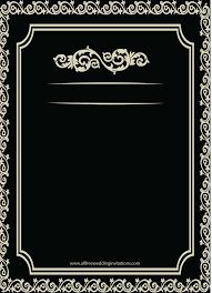 23 black and white wedding invitations templates blank vizio wedding
