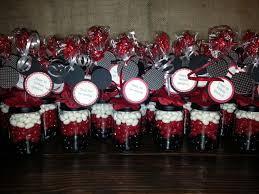 Minnie Mouse Halloween Birthday Party by Mickey Mouse Party Favors Baby Food Jar Party Favor Candy
