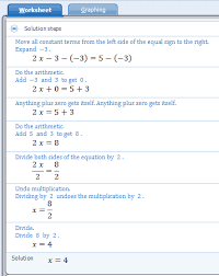 microsoft mathematics tutorial 3 equations and inequalities