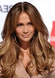 Highlight Colors For Brown Hair Dark Brown And Caramel Hair Women Medium Haircut