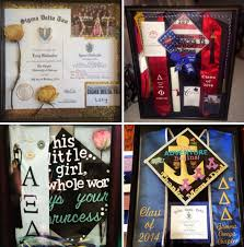 graduation shadow box cap and gown how to create a sorority graduation shadow