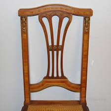 Old Fashioned Bedroom Chairs by Pair Of Antique Bedroom Chairs With Cane Seats Antiques Atlas