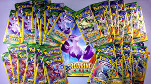 opening 38 xy roaring skies mini booster packs from