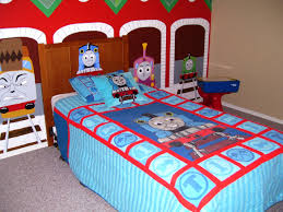 bedroom furniture cool design ideas of boys car bed with red color