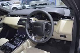 range rover dashboard range rover velar dashboard at 2017 thai motor expo indian autos