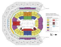 Allphones Arena Floor Plan Us Bank Arena Seat Map