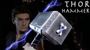 how to make an electric thor hammer thor ragnarok cheap build