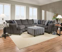 Sectional Loveseat Sofa 3pc Sectional Albany Pewter Nader S Furniture