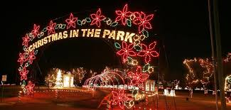 winter park christmas lights winter wonderland christmas light display 2016