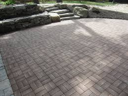Stone Patio Design Ideas by Exterior Design Cool Patio Design With Azek Pavers Plus Natural