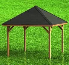 Backyard Gazebos Pictures - gazebo with hip roof building plans diy backyard