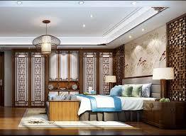 modern chinese bedroom decoration figure interior design