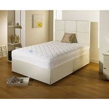 Divan Bed Set Serene Divan Bed Set In White Faux Leather Next Day Select Day