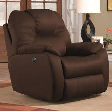 furniture espresso fabric wall hugger recliner couch