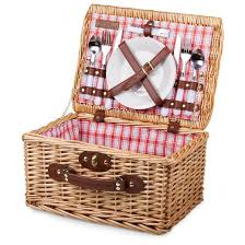 Picnic Gift Basket Picnic Time Catalina Picnic Basket Red And White Plaid Target
