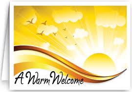 welcome church visitor card 1521 harrison greetings business