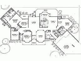 5 bedroom floor plan 14 best adobe style homes images on home plans house