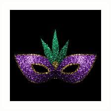 green mardi gras mask mardi gras mask purple green gold sparkles prints by pldesign