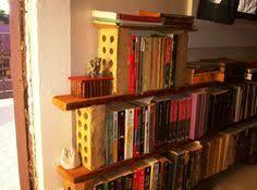 Homemade Bookshelves by Bricks Old Fence Palings Dad U0027s Help U003d Bookshelf Projects