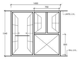 window measurements standard sizes of doors windows for residential buildings in