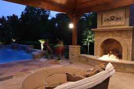 fireplaces over the edge outdoor