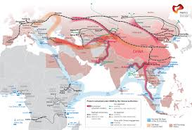 Eurasia Map The New Silk Road U2013 The Vision Of An Interconnected Eurasia