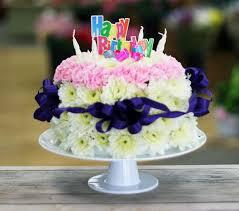 birthday flower cake 9 best birthday cake images on flower birthday cakes