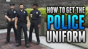 gta 5 online how to wear police uniform in free roam how to get
