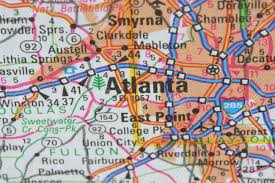 Map Of Atlanta Ga Map Of Atlanta World Map