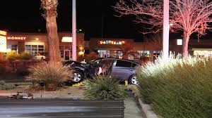 luxur lighting st george ut driver huffing computer cleaner blacks out crashes into light pole