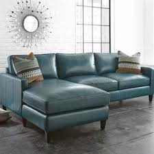 Navy Blue Leather Sectional Sofa Navy Blue Leather Sectional Wayfair