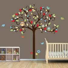 stickers chambre bébé arbre stickers pour la chambre de bébé arbre archzine fr