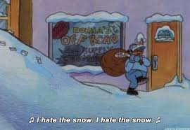 Hate Snow Meme - hey arnold meme hate the snow on bingememe