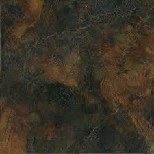 Peacock Slate Floor Tiles by Marazzi Imperial Slate 12 In X 12 In Black Ceramic Floor And