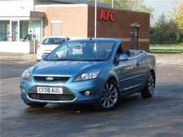 used ford focus tdci used 2008 08 reg blue ford focus cc 2 0 tdci cc 2 2dr dpf for