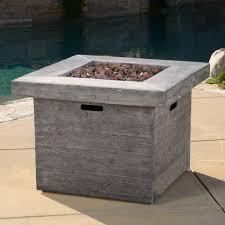 outdoor propane fire pit ebay
