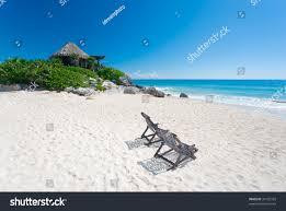 bungalow over water tulum mexico beach stock photo 34193359