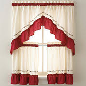 Kitchen Curtains Red by Best Red Kitchen Curtains Fresh Home Design Decoration Daily Ideas
