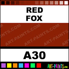 red fox casual colors spray paints aerosol decorative paints