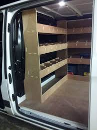 Ford Transit Connect Shelving by Ford Transit Custom Van Racking Swb Complete 12mm Plywood