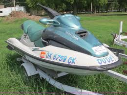 2000 bombardier sea doo gtx personal watercraft item f6644