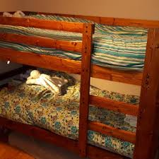 2x4 Bunk Beds Easy And Strong 2x4 2x6 Bunk Bed 6 Steps With Pictures