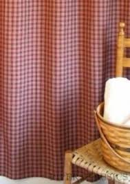 Matching Shower Curtain And Window Curtain Red Plaid Shower Curtain Foter