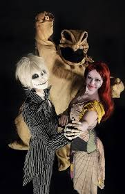 Halloween Costumes Nightmare Christmas 2014 Jack Skellington Sally Oogie Boogie Costumes Nightmare