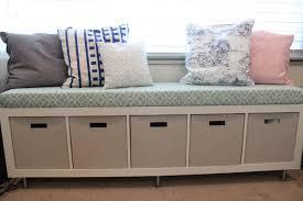 bedroom cozy drawer storage under seat plus floral rug cover ing