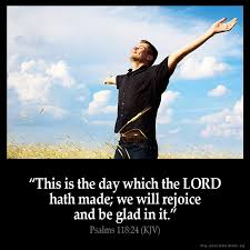 psalms 118 24 inspirational image